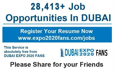 Hotel jobs in Dubai due to the World Expo 2020