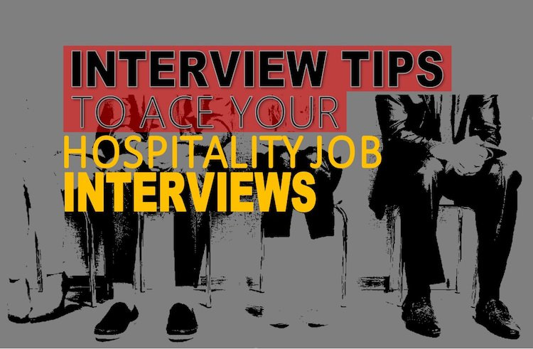 Interview tips- Hospitality Job interviews