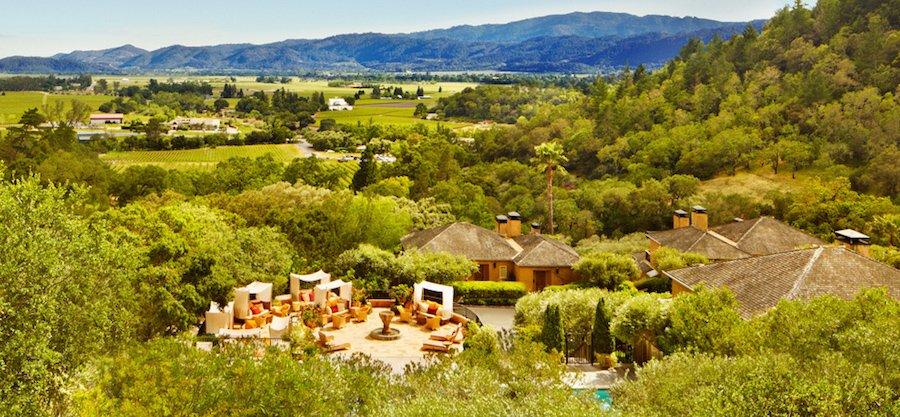 Auberge du Soleil Napa Valley most beautiful hotels