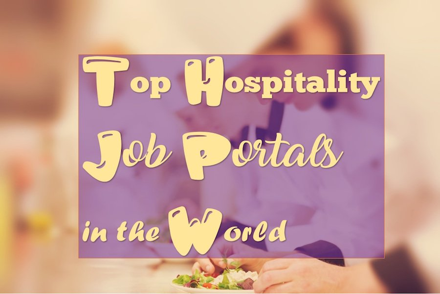 Top Hospitality Job Portals in the world
