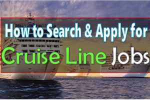 How to Search Cruise Line Jobs
