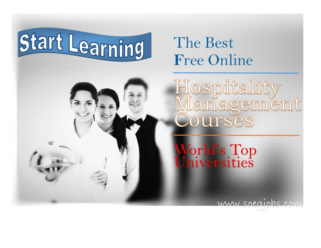 Free online hospitality management courses