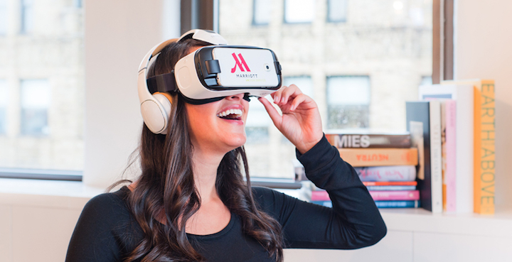 Marriott-Virtual reality-Future of hospitality