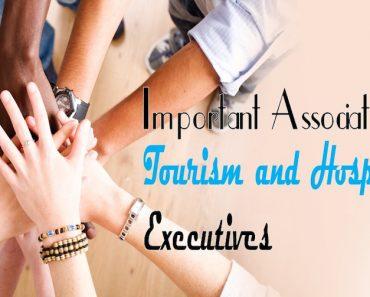 Associations for Tourism and Hospitality Executives