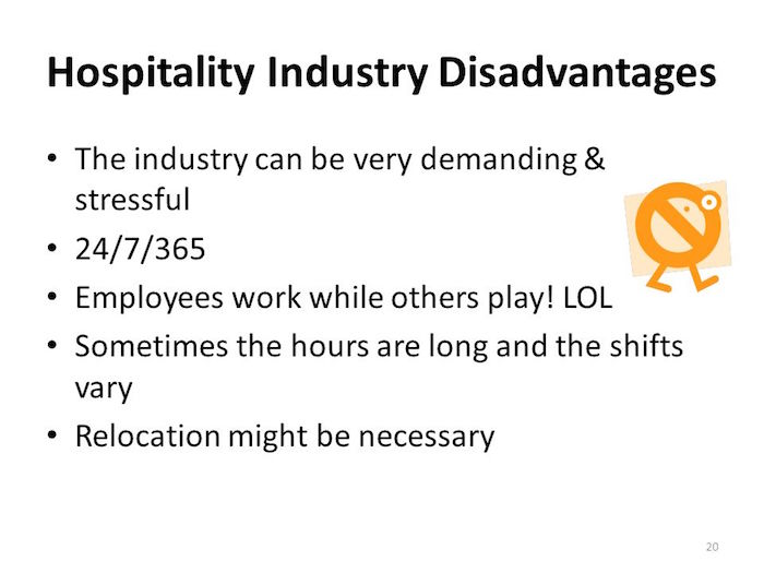 Hospitality-Industry-jobs-Disadvantages