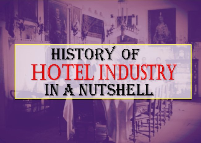history of the hotel industry