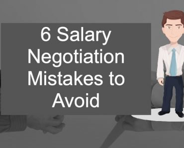 6 Salary Negotiation mistakes to avoid in your next career move