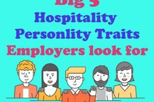 Big Five personality traits for the hospitality industry