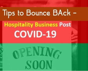Hospitality Businesses Post Covid-19   Tips to Bounce Back
