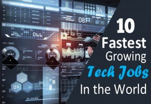 Read more about the article 10 Fastest-Growing Tech Jobs in the World