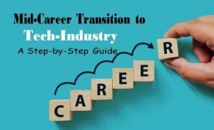Mid Career Transition to Tech – A Step by Step Guide
