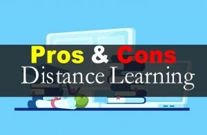 Pros and Cons of Online & Distance Learning