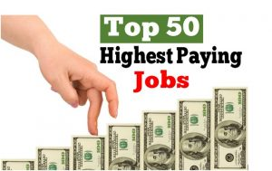 Top 50 Highest Paying Jobs in the World